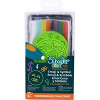 Набор аксессуаров для 3D-ручки 3Doodler Start - ЭМОДЖИ (48 стержней, 2 шаблона)