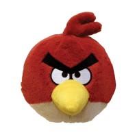 Мягкая игрушка AngryBirds (птичка красная,озвуч.,12см)