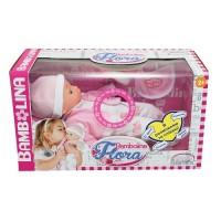 Говорящая кукла BAMBOLINA - ФЛОРА (озвуч. укр. яз., 40 см, с аксессуарами)