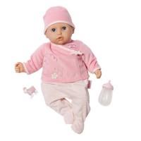 Интерактивная кукла Zapf MY FIRST BABY ANNABELL - НАСТОЯЩАЯ МАЛЫШКА (36 см, с аксессуарами, озвучена)
