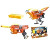 Динобот-трансформер Dinobots ВЕЛОЦИРАПТОР (30 см, бластер, мишень, 20 стрел)
