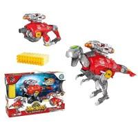 Динобот-трансформер Dinobots ТИРАННОЗАВР (40 см, бластер, мишень, 30 стрел)