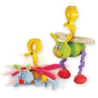 Игрушка-подвеска на прищепке Taf Toys - ЖУЖУ (в ассорт. дрожащие дрожащие бабочка и пчёлка)