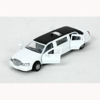 Автомодель TECHNOPARK ЛИМУЗИН (белый,свет,звук)
