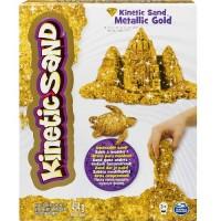 Песок д/детского творчества Wacky-Tivities KINETIC SAND METALLIC (золотой, 454 г)