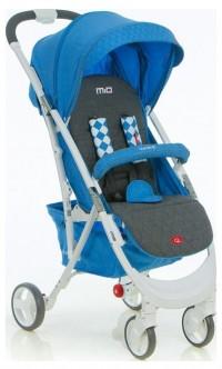 Коляска прогулочная Quatro Mio №13 turquoise (графит с синим)