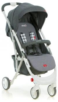 Коляска прогулочная Quatro Mio №14 grey (графит-серый)