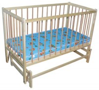 Кроватка детская Тиса (на подшипниках)