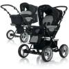 Универсальная коляска ABC Design Pramy Luxe Pearl Black