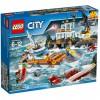 Конструктор LEGO City Штаб береговой охраны (60167)