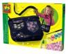 Набор д/изготов-ия сумочки Ses МОДНЫЙ ТРЕНД (сумочка,украшения,кисточка,краски,клей)